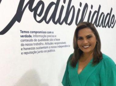 Apresentadora do Aratu Notícias, Carla Araújo é demitida da emissora