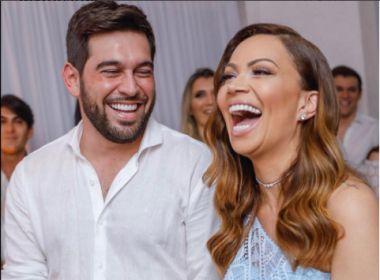Solange Almeida se casa com empresário em cerimônia surpresa: 'Decidi ter meu lar'