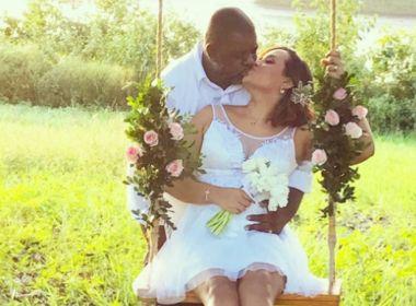 Há poucos dias do casamento, sambista Péricles compartilha ensaio pré-nupcial