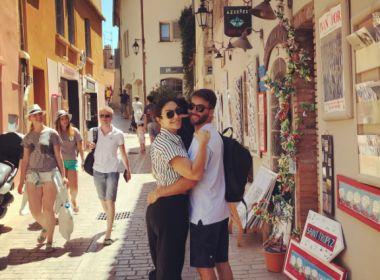 Prestes a se apresentar na Europa, Ivete publica foto com marido e anuncia 'lua de mel'