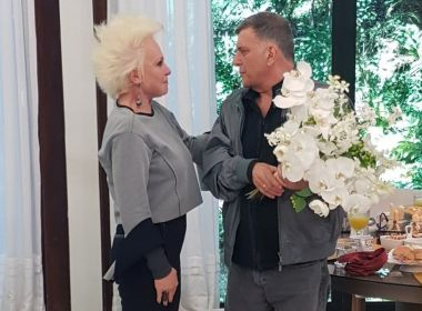 Recuperado do AVC, Jorge Fernando emociona Ana Maria Braga no 'Mais Você'; assista