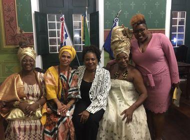 Margareth Menezes recebe prêmio pelo Dia Municipal da Mulher Negra