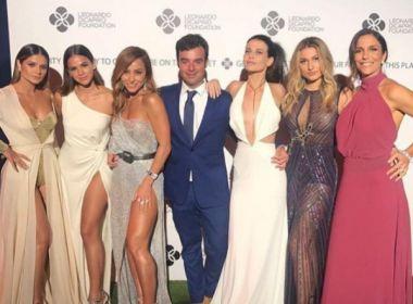 Ivete Sangalo, Sasha e Bruna Marquezine prestigiam evento de Leonardo DiCaprio