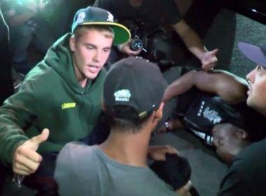 Justin Bieber atinge fotógrafo 'acidentalmente' com caminhonete em Beverly Hills
