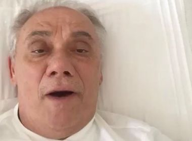 Namorada de Marcelo Rezende compartilha último vídeo de apresentador: 'Aguenta firme'