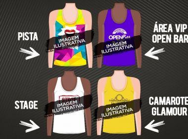 Entrega de camisas do Salvador Fest acontece de quinta a sábado; veja locais de retirada