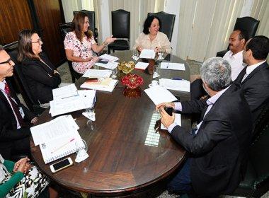 Presidente do TJ e prefeito de Camaçari discutem saneamento de vara da Fazenda