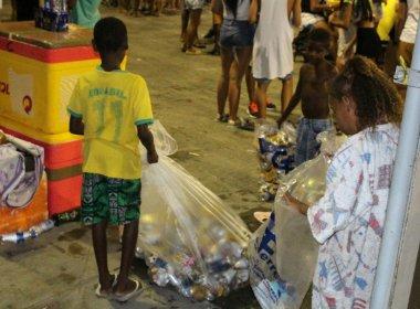 Ambulantes que levam filhos para Carnaval podem perder mercadoria e alvará