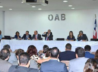 Prestação de contas de 2016 da OAB-BA é aprovada pelo Conselho Pleno