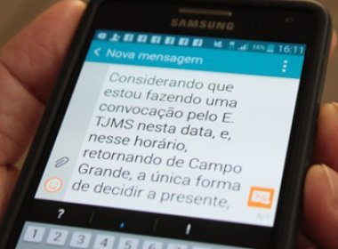 Juiz determina soltura de preso através de mensagem de celular
