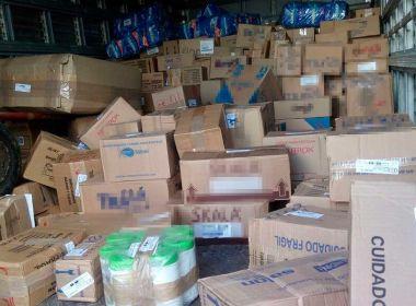 Alagoinhas: Polícia recupera carga de R$ 68 mil após grupo roubar caminhão