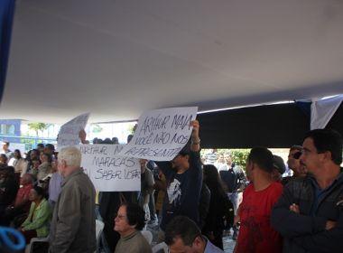 'Maracás vai saber votar': Arthur Maia é vaiado durante inauguração de unidade do INSS