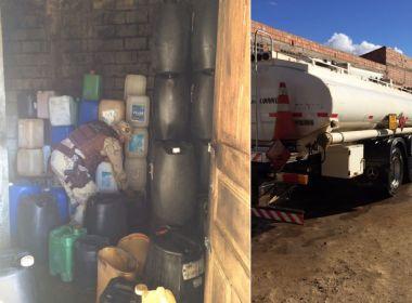 Jequié: Dois homens são presos por vender combustíveis clandestinamente