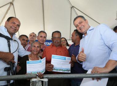 Conceição do Almeida: Rui entrega certificados a agricultores e inaugura unidades de saúde