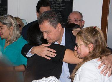 Feira de Santana: Ronny queria ser deputado federal, revela Rui Costa durante velório