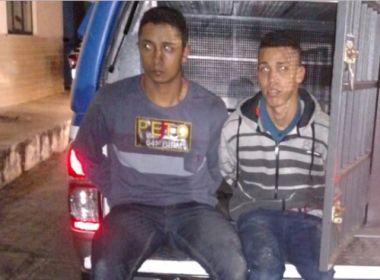 Feira: Dois são presos em tentativa de assalto à agência do Santander