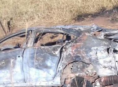 Extremo Oeste: Dois morrem em capotamento na BR-135; passageira fica carbonizada