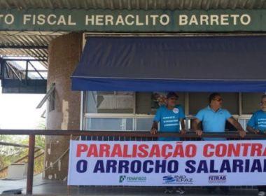Fazendários param por 48h em postos fiscais de Feira, Juazeiro e de mais 11 cidades