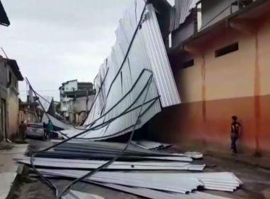 Chuvas provocam incidentes e preocupam moradores no interior da Bahia