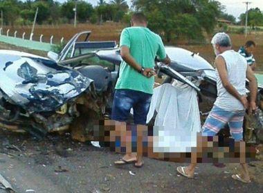 Santa Bárbara: Colisão entre dois carros mata quatro pessoas; criança de um ano sobrevive