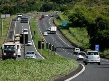 Estradas baianas e federais que passam pela BA registram queda de acidentes no Réveillon