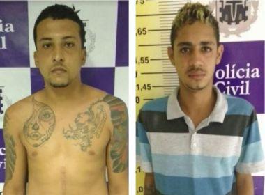 Dois homicidas são capturados pela polícia em Feira de Santana