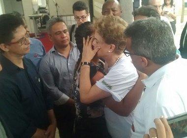 Em visita a Juazeiro, Dilma se encontra com pais de menina assassinada em Petrolina