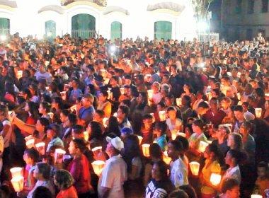 Serrinha: Procissão do Fogaréu leva centenas às ruas