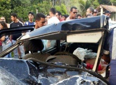 Porto Seguro: Dois morrem e 13 ficam feridos em acidente na BA-001