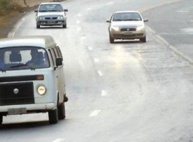 BR entre Capim Grosso e Baixa Grande tem maior nº de infrações por não uso de faróis