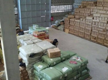 Feira: Ação da PRF e Receita descobre depósito clandestino que abastecia 'Feiraguai'