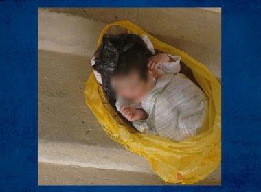 Recém-nascida abandonada é encontrada em saco plástico em Jequié