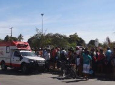 Barreiras: Criança de 11 anos morre em acidente de moto na BR-242