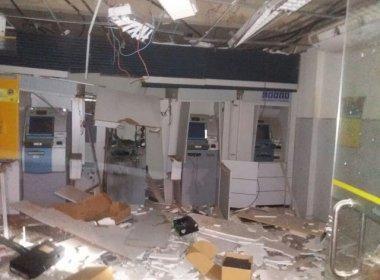 Grupo explode agência do Banco do Brasil na cidade de Camamu