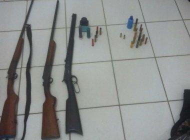 Eunápolis: Índio é preso com arma de forças armadas
