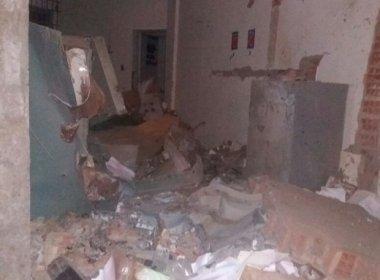Iraquara: Quadrilha explode agência do Banco do Brasil