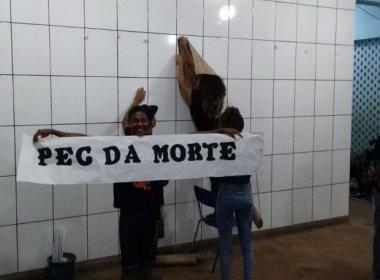 Estudantes de Una e Simões Filho ocupam escolas contra PEC que limita investimentos
