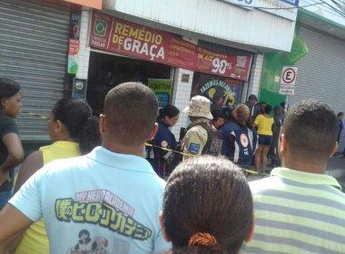 Menina de 9 anos e mulher morrem abraçadas em incêndio na farmácia em Camaçari