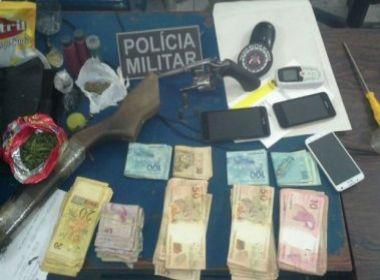 Paratinga: Dupla é presa por assalto em agência dos Correios