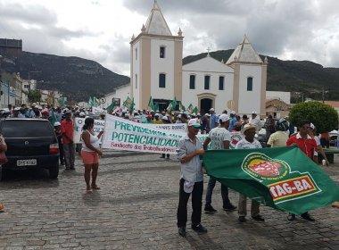 Jacobina: Trabalhadores rurais protestam contra a PEC 287
