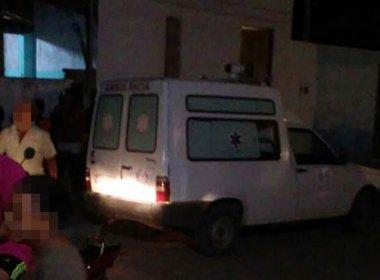 Santaluz: Homem é morto dentro de ambulância após ser baleado horas antes