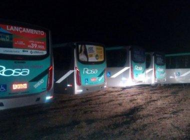 Polícia encontra em Serrinha ônibus coletivos que 'sumiram' em Feira