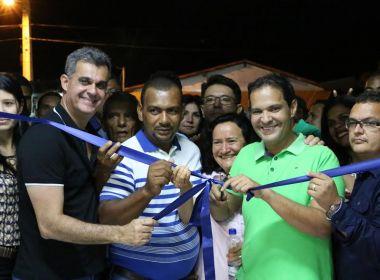 Lapa: Prefeitura entrega unidade de saúde e obras de pavimentação no 'Vila Nova'