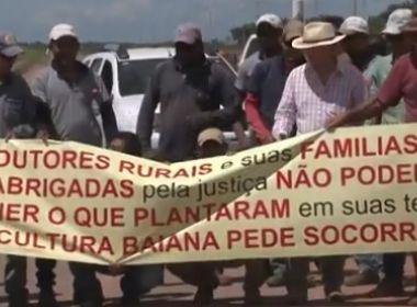 Formosa: Produtores fazem protesto contra reintegração de posse de 340 mil ha de terras