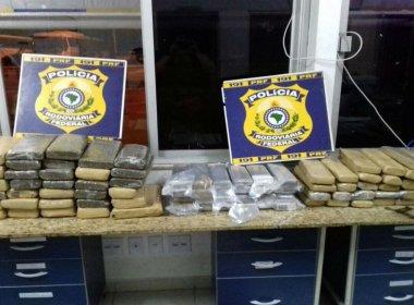 Conquista: Três são presos por tráfico de drogas; menor é apreendido