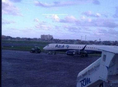 Ilhéus: Avião tem problema antes de decolar e passageiros tomam susto