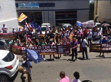 Greve Geral: Sindicatos programam manifestação em Lauro nesta sexta-feira