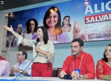 Ainda em voo solo, Alice Portugal anuncia candidatura à prefeita de Salvador