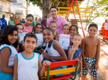 Madre de Deus: Prefeitura inaugura duas novas áreas de lazer