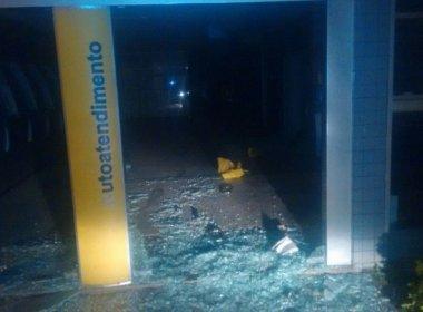 Seabra: Quadrilha explode cofre da agência do Banco do Brasil
